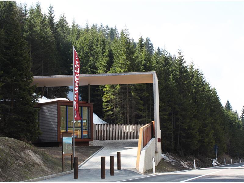 Gampen Bunker Eingang