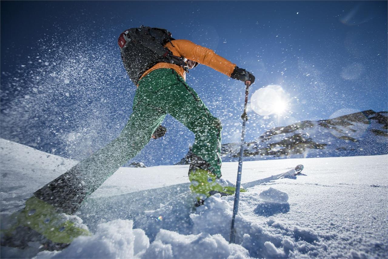 Skitour zur Achsel 2.336 m