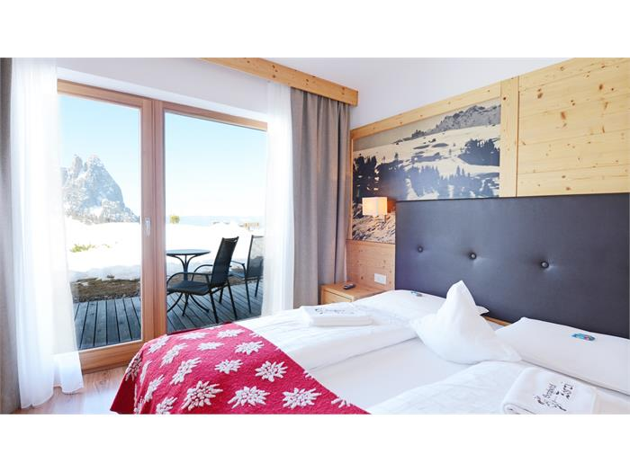 double room with terace