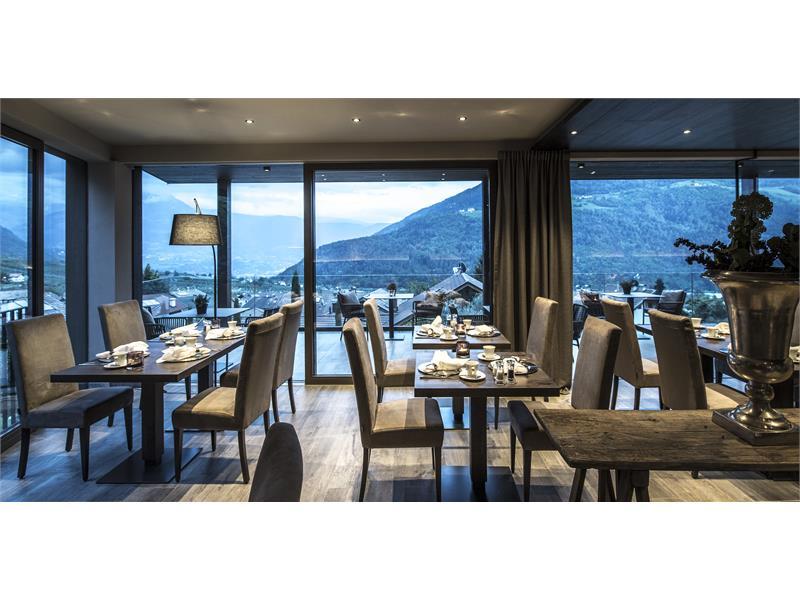 Hotel Mair am Ort Living sala colazione