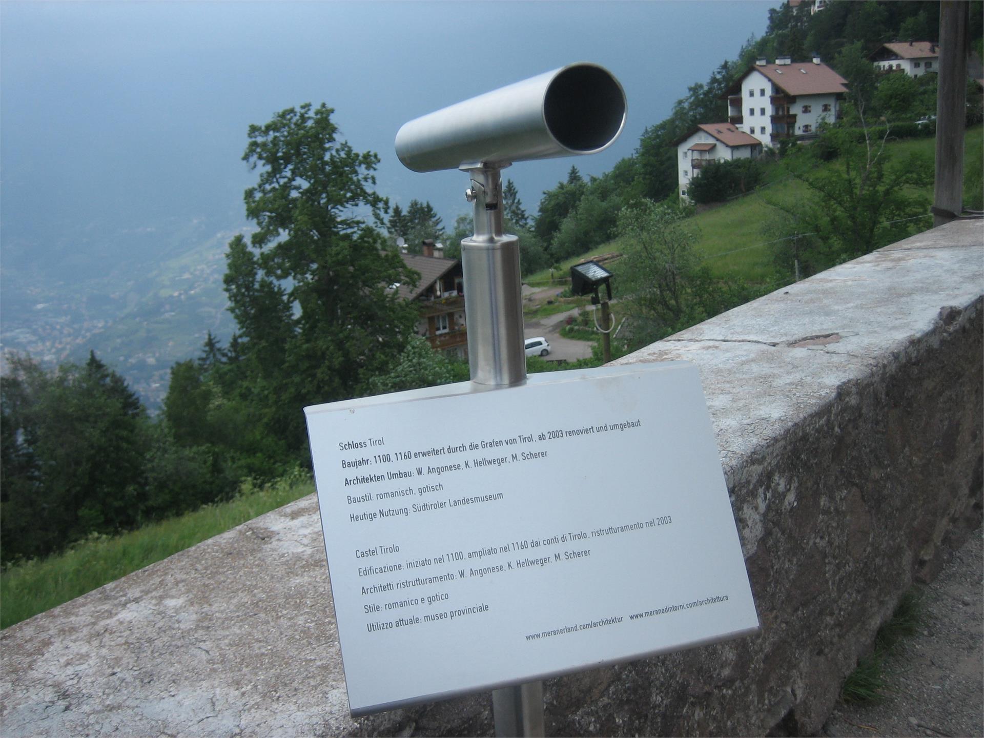 Tyrol Castle - Telescope St. Kathrein Kirchlein Church