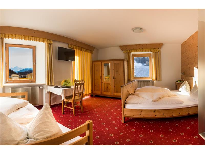 Triple room with a fantastic view