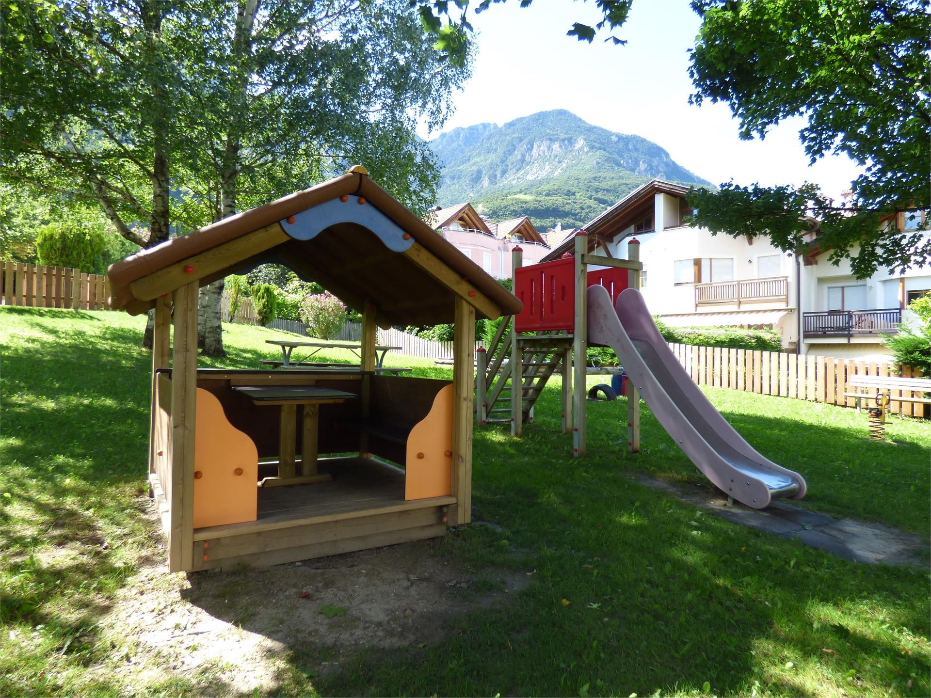 Children's playground near the Restaurant Schießstand