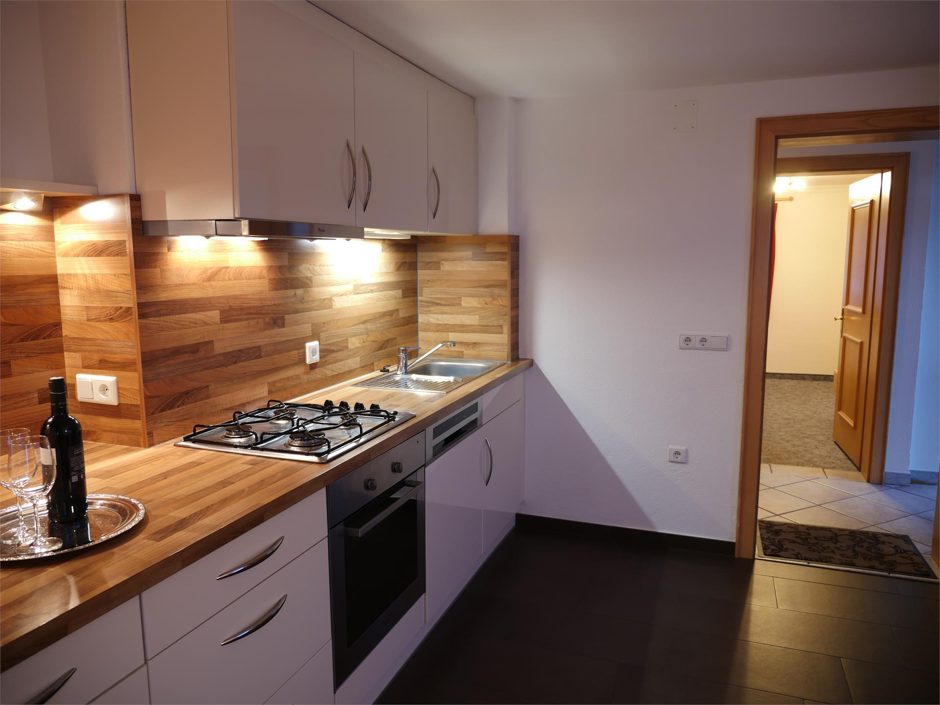 Appartamento pianoterra cucina