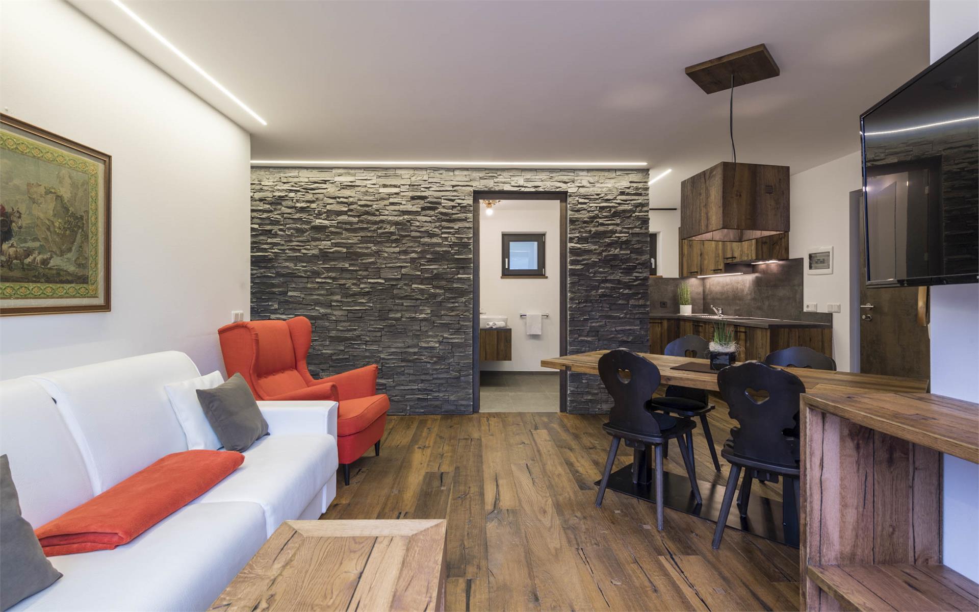 Appartement Typ C Chalet Stil