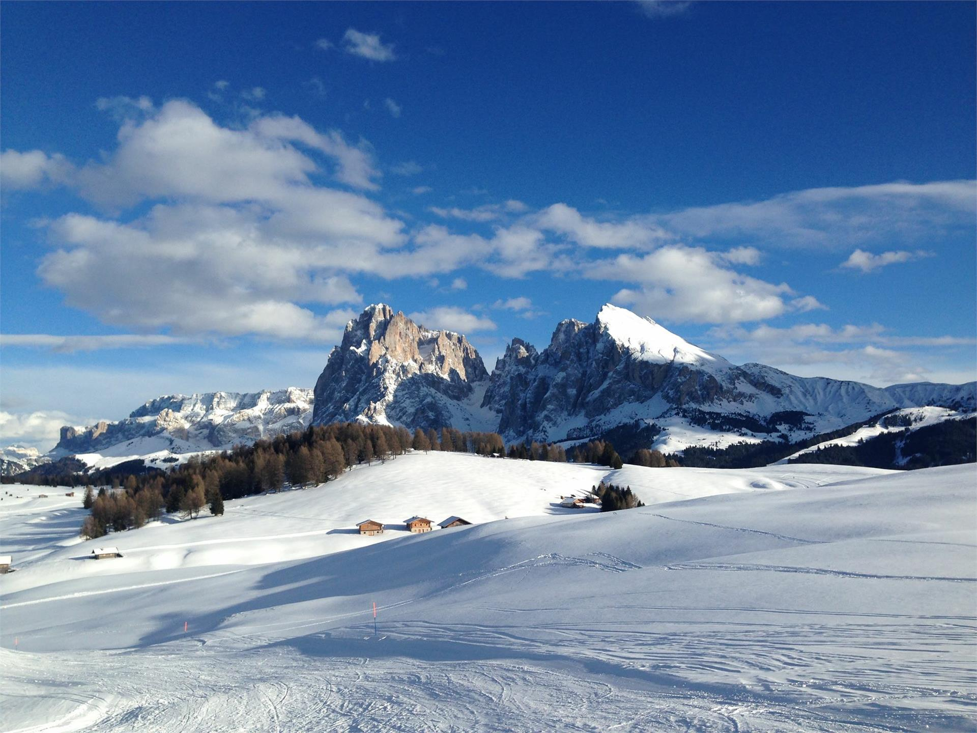 Alpe di Siusi - the biggest alp in Europe