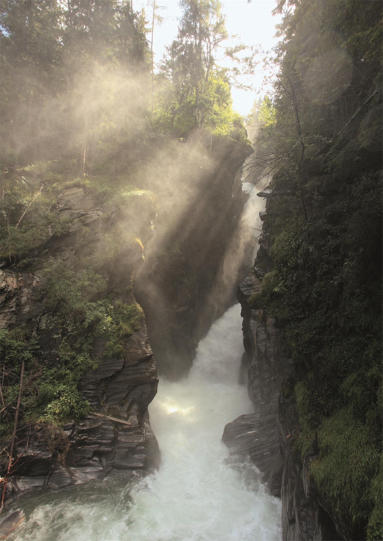 Stieber Wasserfall in Moos