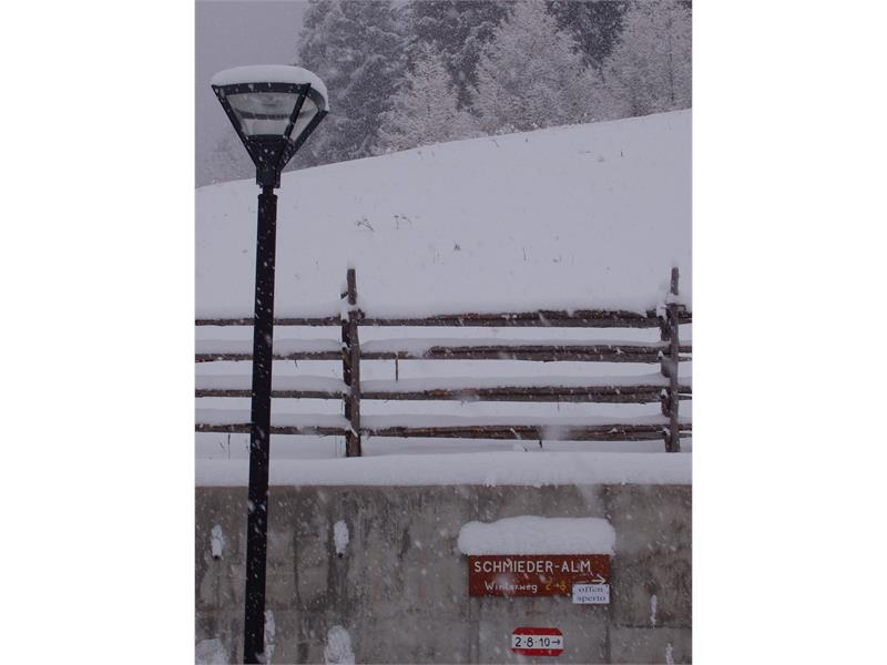 Start Winterweg in Maria Weissenstein
