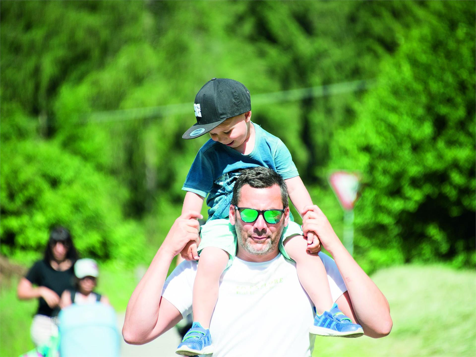 Familienwanderung Oberolang – Salla - Oberoalng