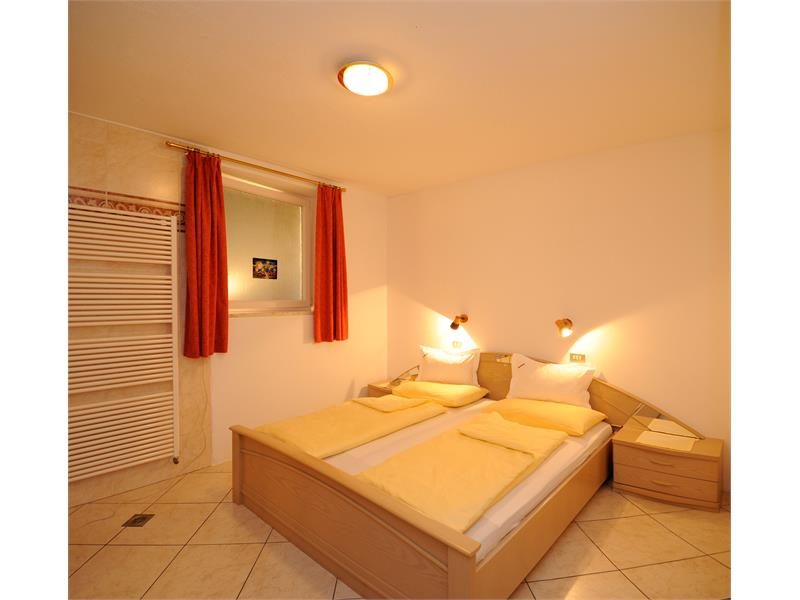 Example for bedroom in the apartment