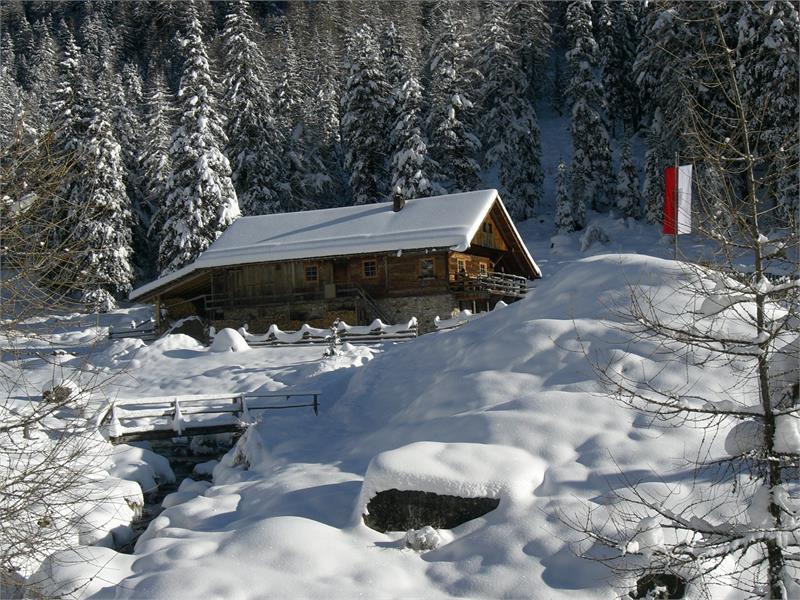 Lercher Alm im Winter