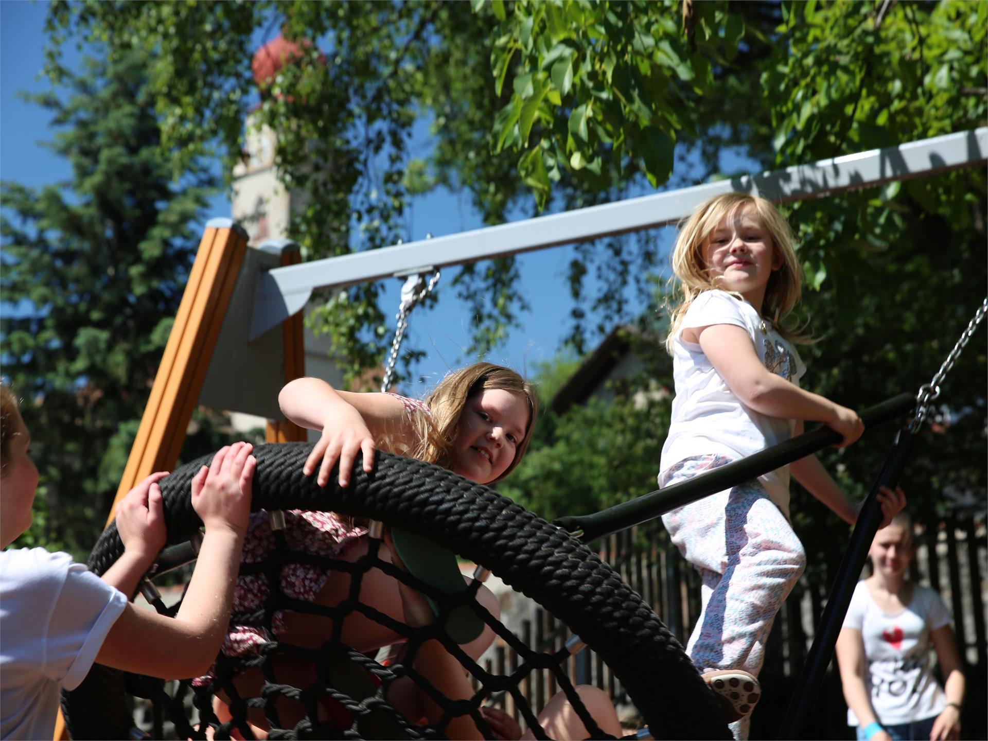 Kinderspielplatz Mittelschule Partschins