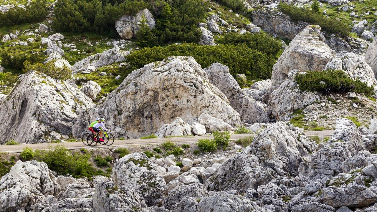 Road bike tour to the Tre Cime/Drei Zinnen