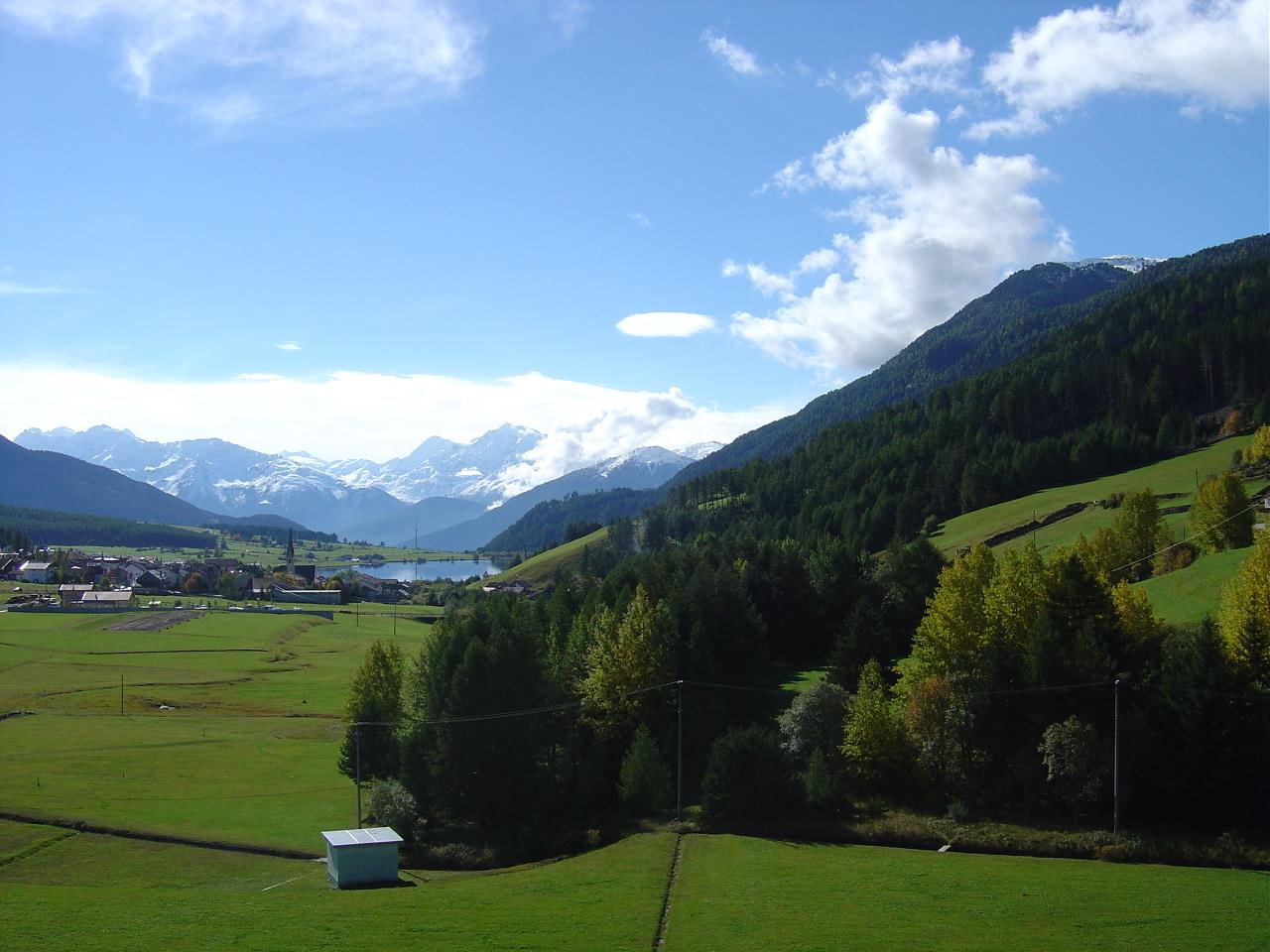 Panorama d'estate