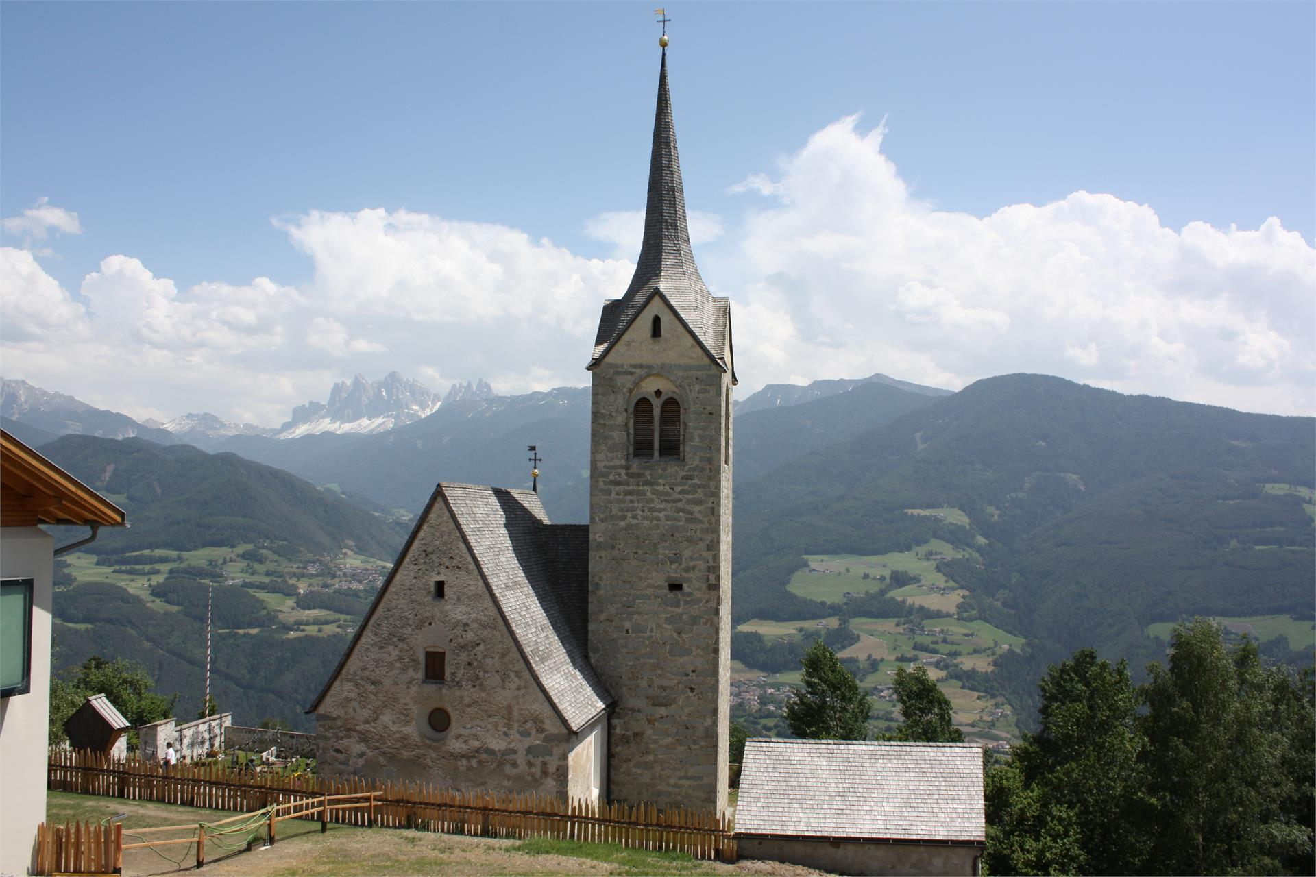 Church St. Andreas in Carena/Garn