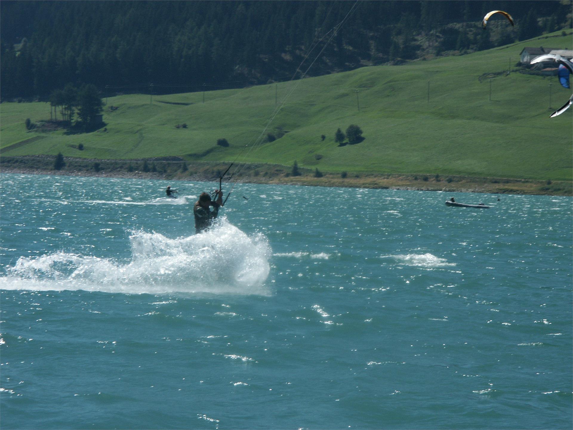 Kite Surfing Lago di Resia/Reschensee