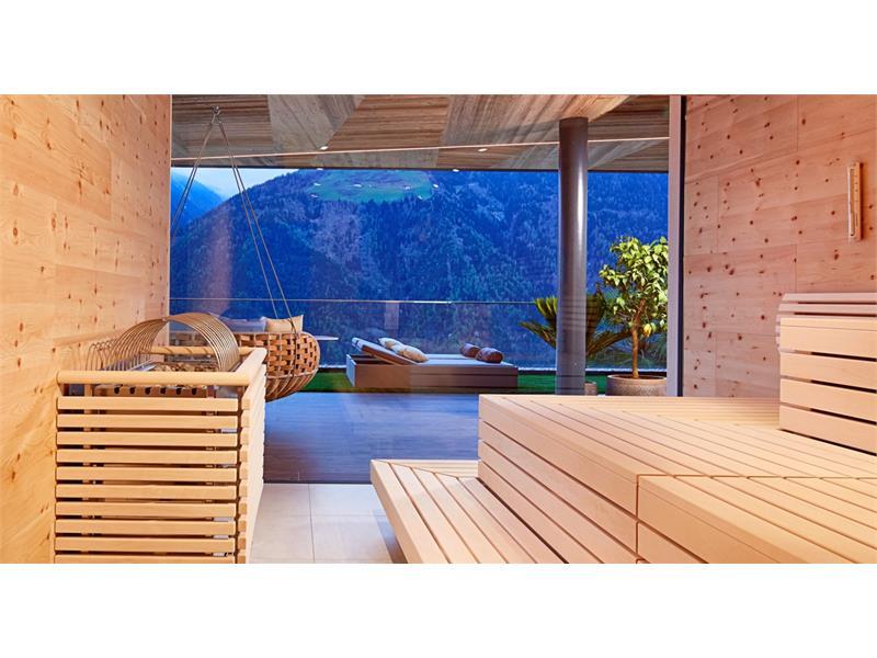 Sauna bio al legno cirmolo
