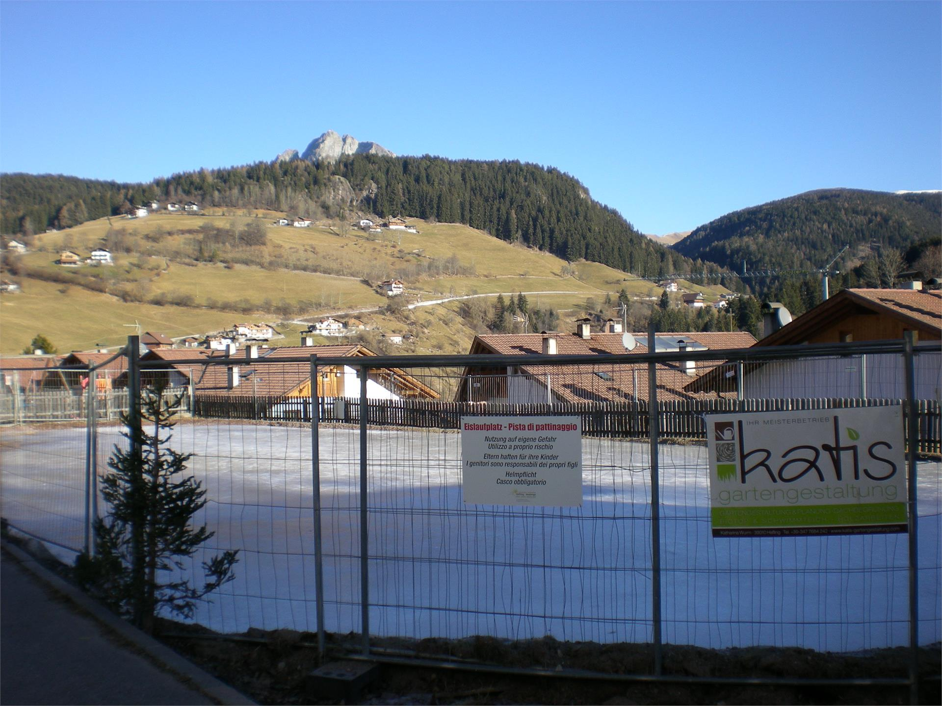 Ice rink in Avelengo
