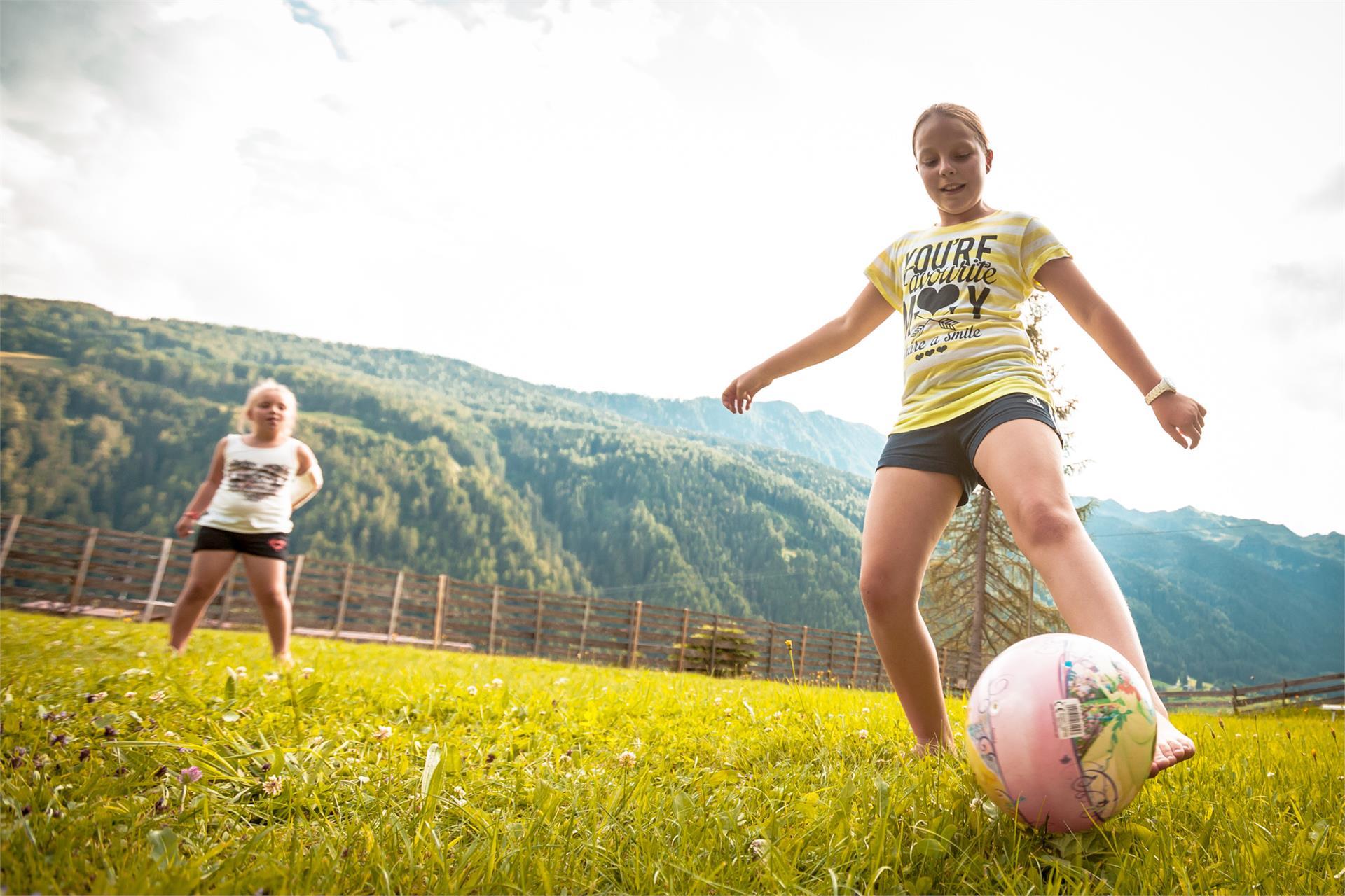 unser Fussballfeld
