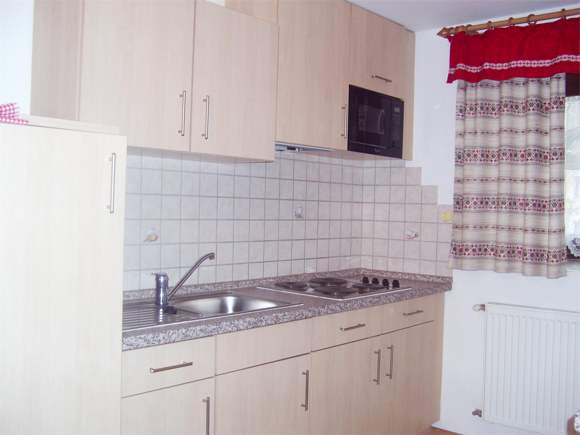 Appartment 8 Küche