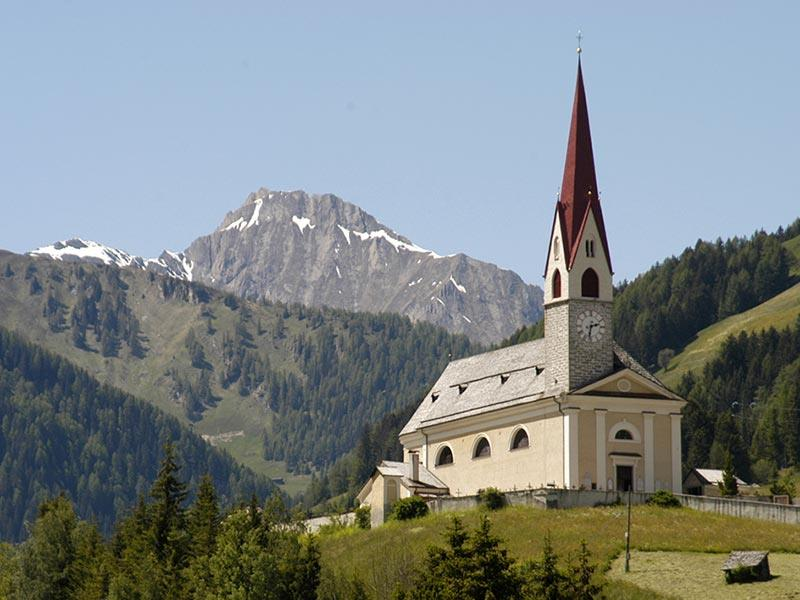 Mühlwald/Selva dei Molini - Church of St. Gertrude