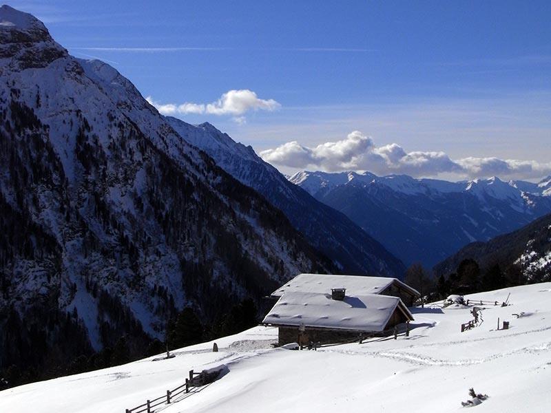 Ciaspolata Valli di Tures e Aurina Malga Kofler Riva di Tures