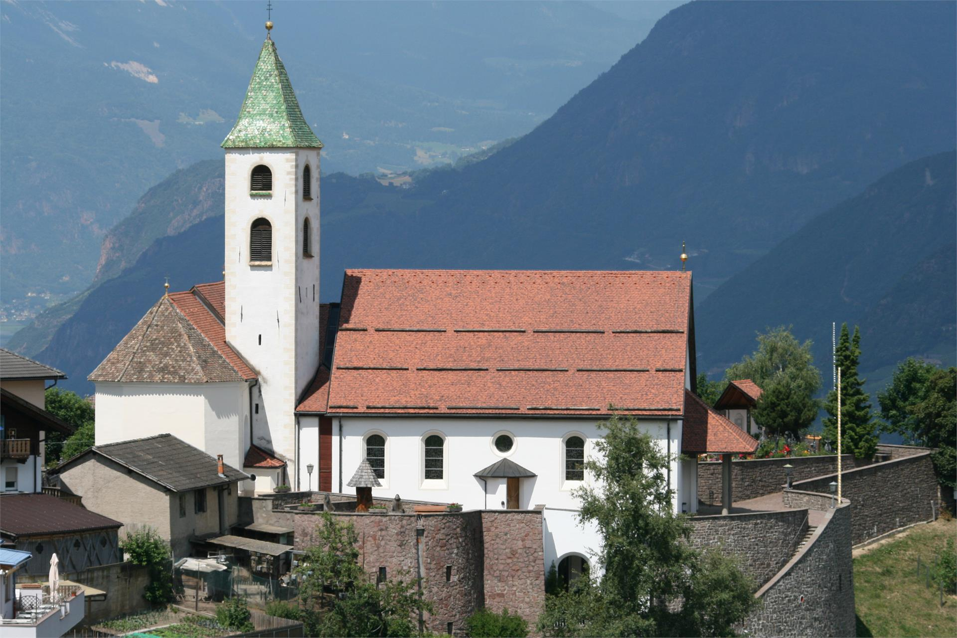 The parish church of Collepietra