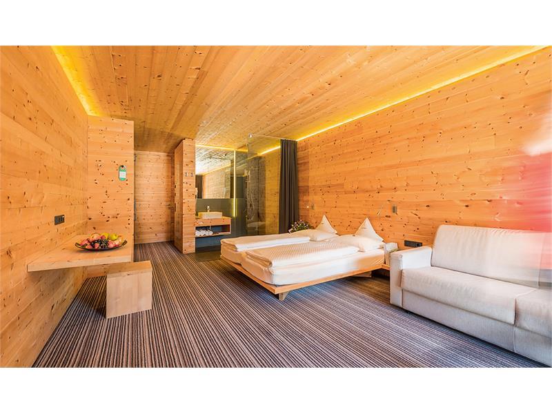 Camere in legno di cembro