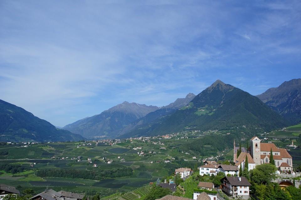 Von Schenna nach Dorf Tirol