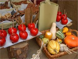 Glurnser Laubenmarkt: Bunter Herbstmarkt