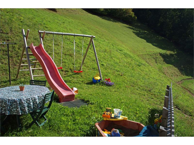 The play ground and the lawns