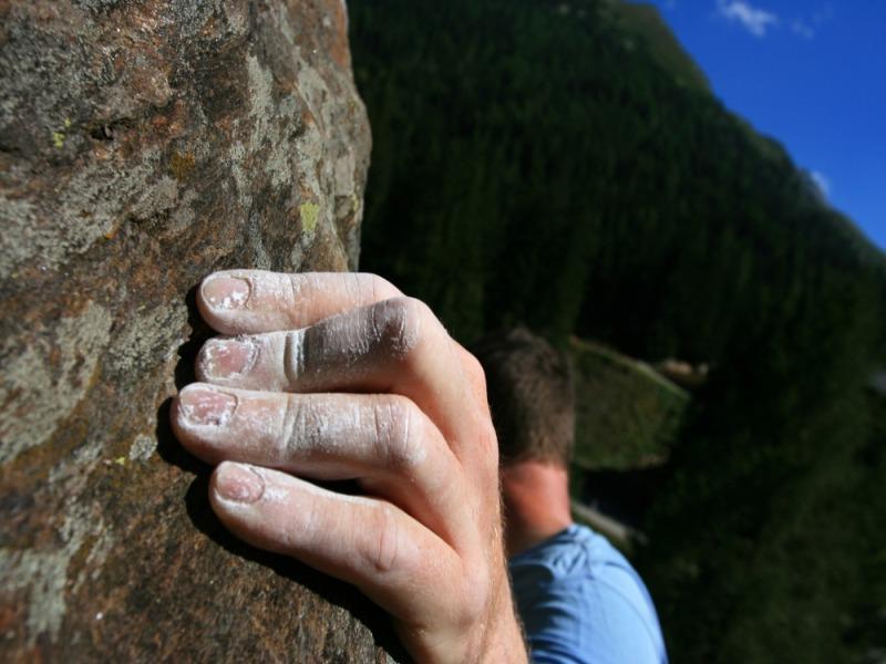 Palestra di roccia a Moso