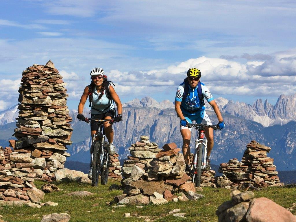 Itinerario in mountain bike Almrausch & Edelbike