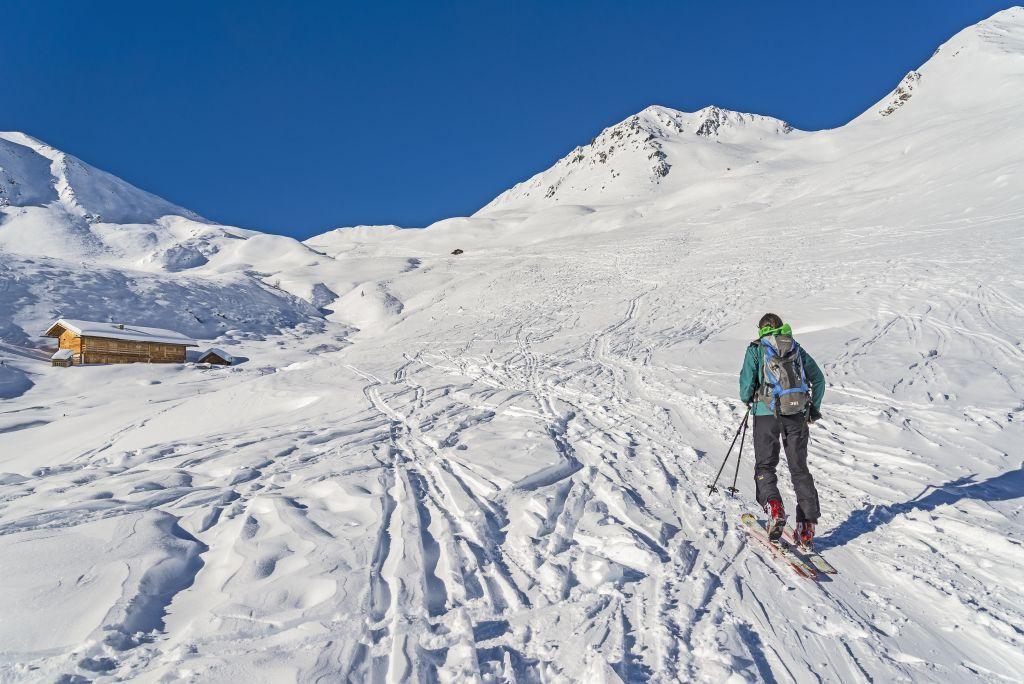 Ski Tour: Hoher Mann in S. Maddalena/Gsieser Tal Valley