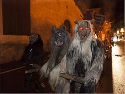 Traditioneller Koatlacker Nikolausumzug