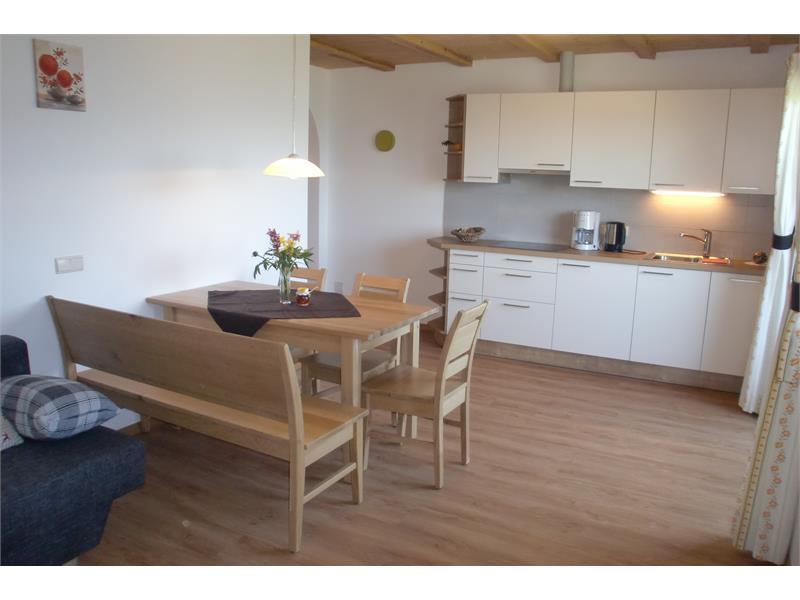 Küche-Wohnraum