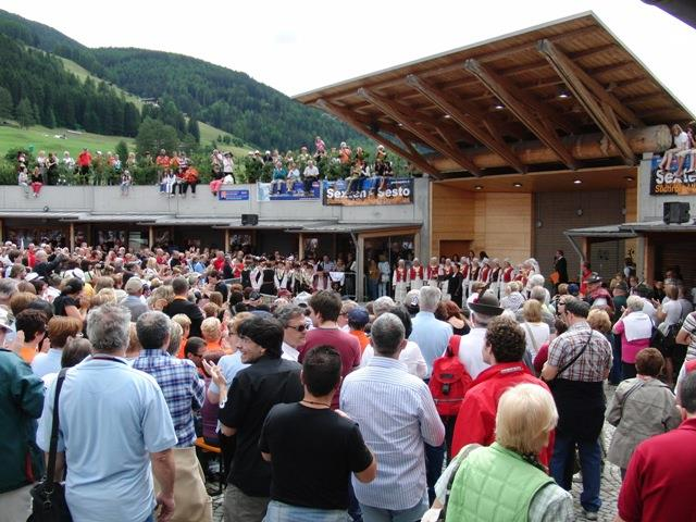 22nd Alta Pusteria Int. Choir Festival: final ceremony
