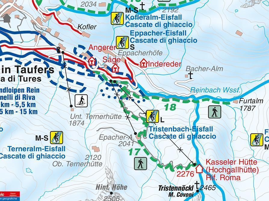Snowshoe hike Kasselerhütte Riva di Tures/Rein in Taufers (Copy)