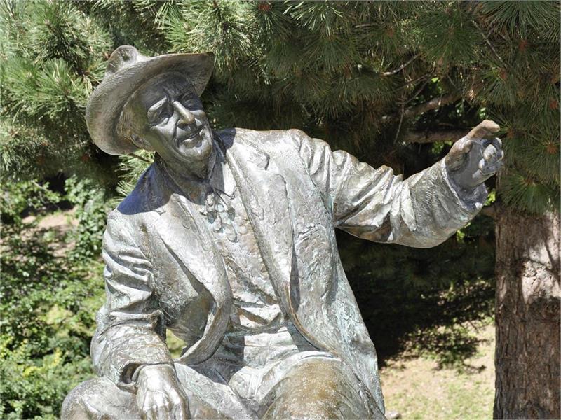 Luis-Trenker-Denkmal