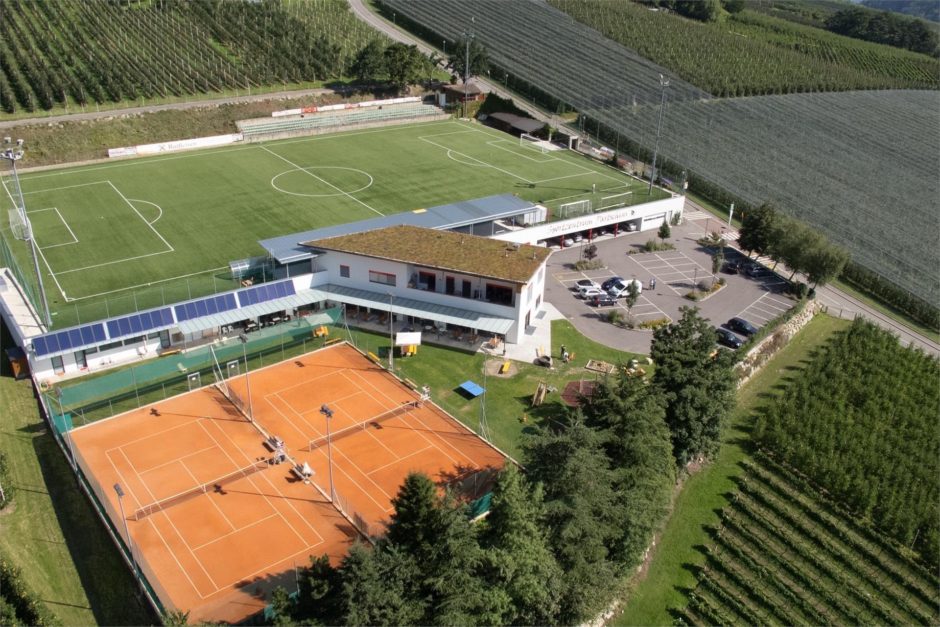 Tennis courts Parcines/Partschins