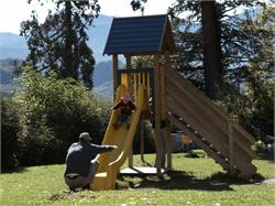 Playground along the along the bicycle path Kaltern-Eppan-Bozen/Caldaro-Appiano-Bolzano