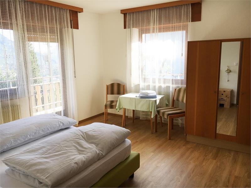 Doppelzimmer oder Doppelzimmer zur Einzelbenutzung mit Panoramabalkon