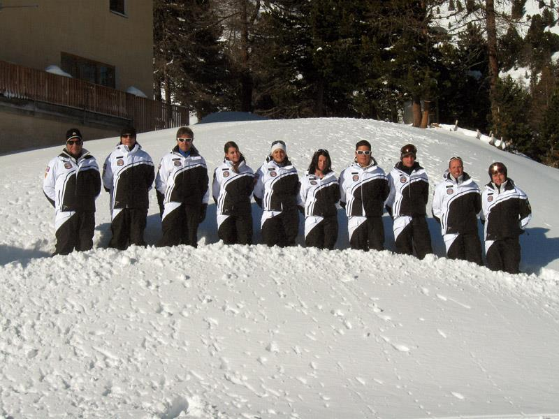 ski instructors ski school San Valentino
