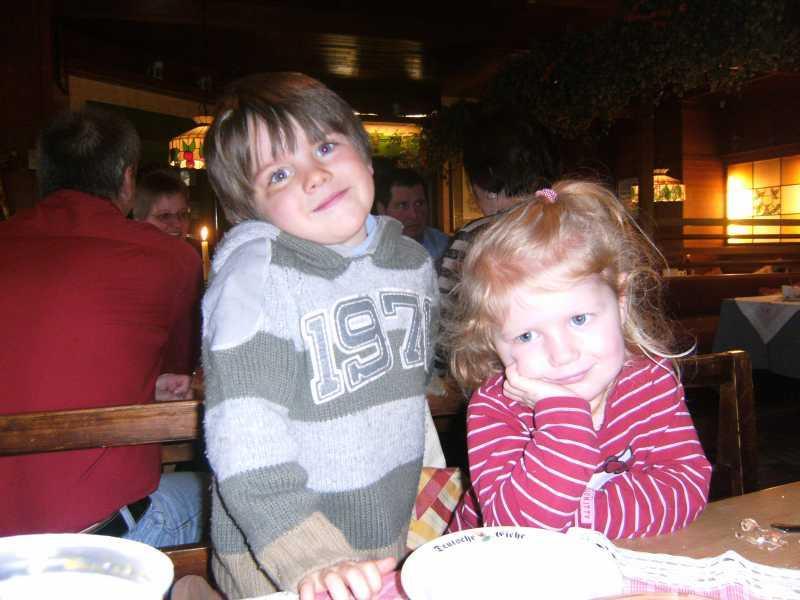 Figlio Gabriel e Malina