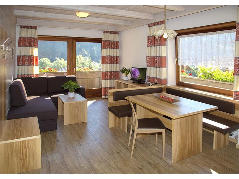 Apartment Riederhof - Living Room