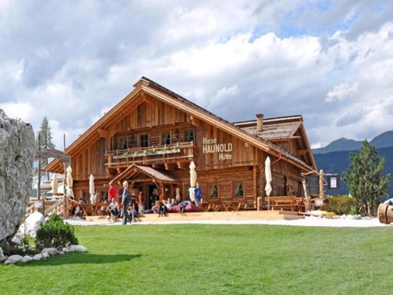 Familienwanderung: Riese Haunold Hütte