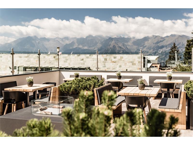 Das Hotel Mountain Resort ist umgeben von herrlicher Naturlandschaft