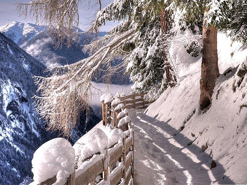 Winterwanderung - Kofler zwischen den Wänden