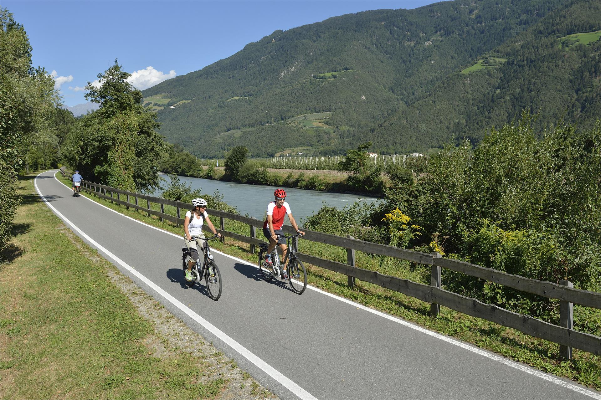 "Bicycle ""Via Claudia Augusta"", part Naturno to Merano"