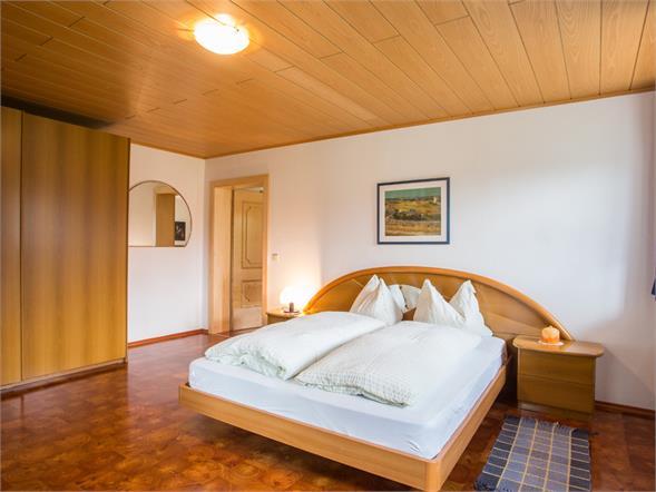 Schlafzimmer Ferienhof Thumburg